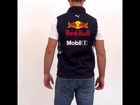 RED BULL RACING 2017 TEAM GILET - YouTube 53898fade59