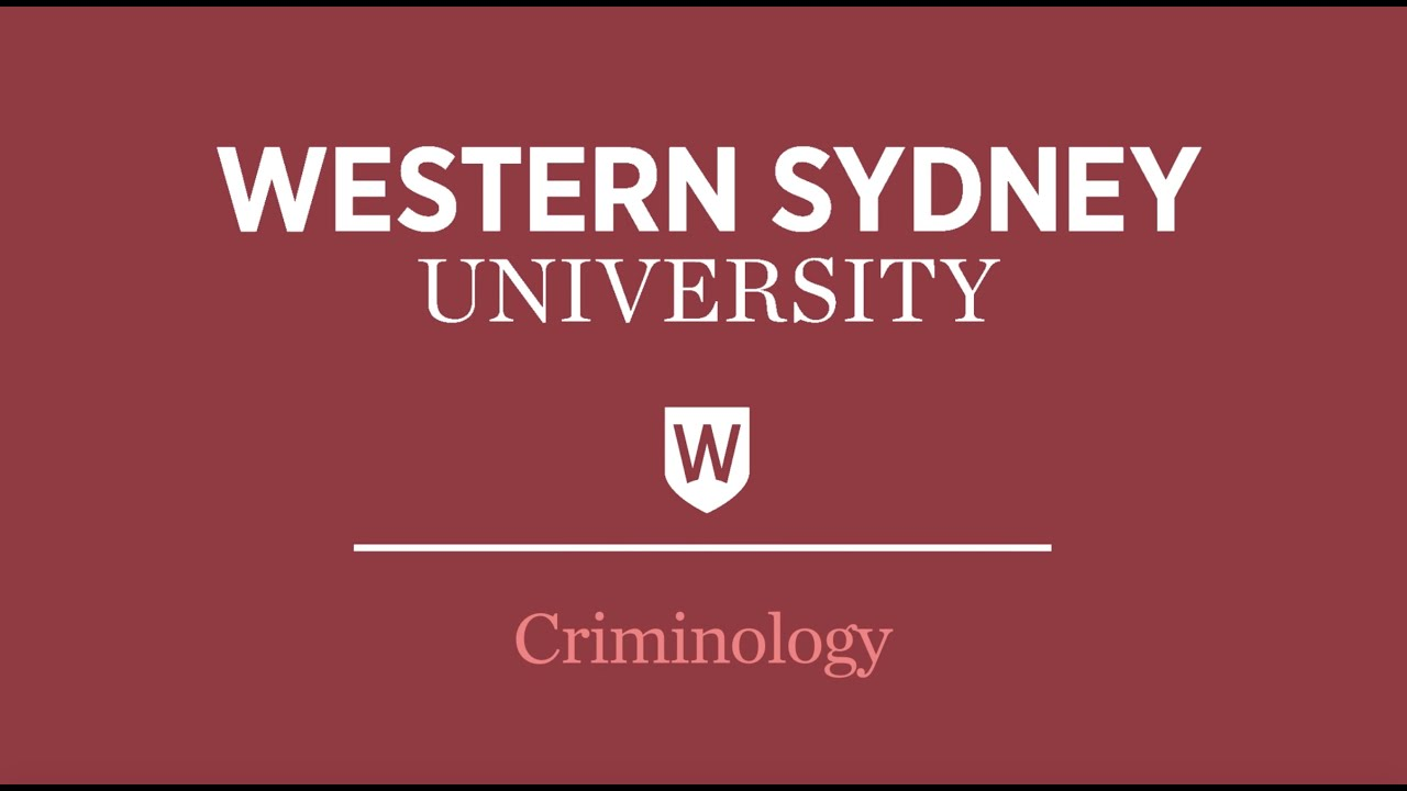 Criminology, Policing and Cyber Security | Western Sydney University