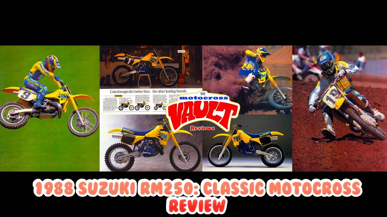 1988 Suzuki RM250: Classic Motocross Review