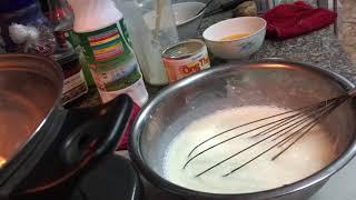 PANDAN FLAN CHEESE (Thạch rau câu flan cheese lá dứa)