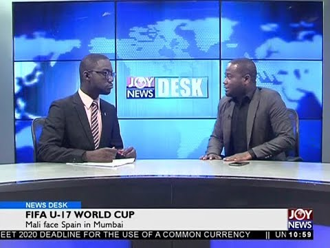 FIFA U-17 World Cup - Sports Desk on Joy News (25-10-17)