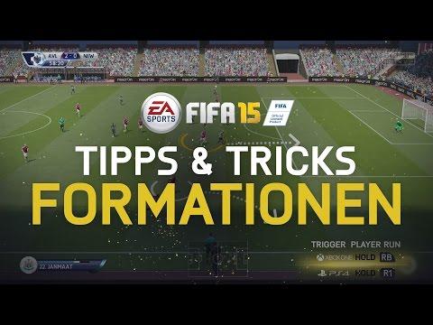FIFA 15 Tipps & Tricks - Formationen