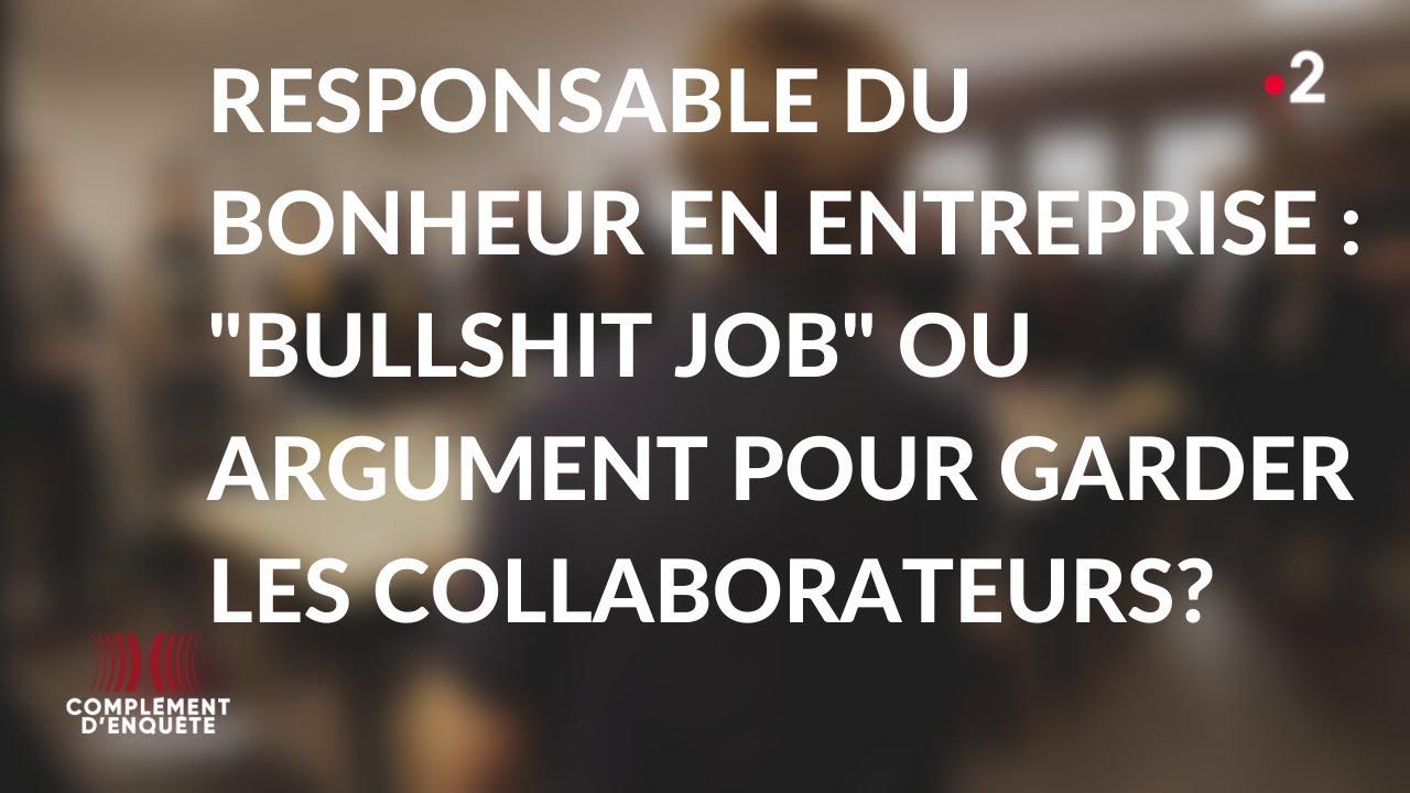 """Download Complément d'enquête. Profession ? """"Job à la con"""" #3 - 14 novembre 2019 (France 2)"""