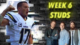 Week 6 Studs - The Fantasy Footballers