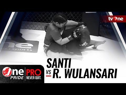 [HD] Santi vs Rita Wulansari - One Pride MMA - Woman Strawweight