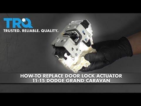 How to Replace Door Lock Actuator 11-15 Dodge Grand Caravan
