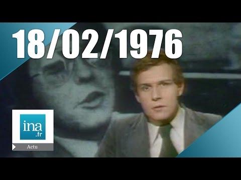 20h Antenne 2 du 18 février 1976 - L'affaire Patrick Henry   Archive INA