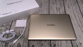 Huawei MateBook X Unboxing and First Impressions