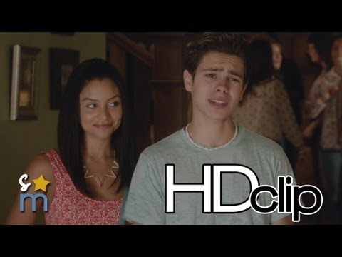 THE FOSTERS 1x05 No Girls Upstairs Clip - Jake T Austin, Cierra Ramirez, Bianca Santos