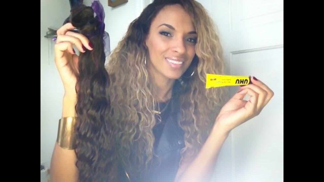 How To Seal Your Weave Wefts Youtube