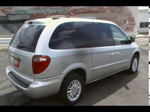 2002 Chrysler Town And Country Van Ex 81501