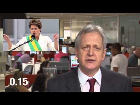 Dilma: cara de pau