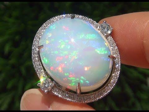 White Opal Ring Value