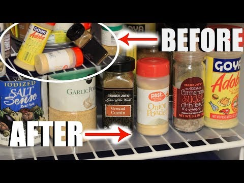 $$ Dollar Tree Shelf Hack l Quick & Simple Way to Organize