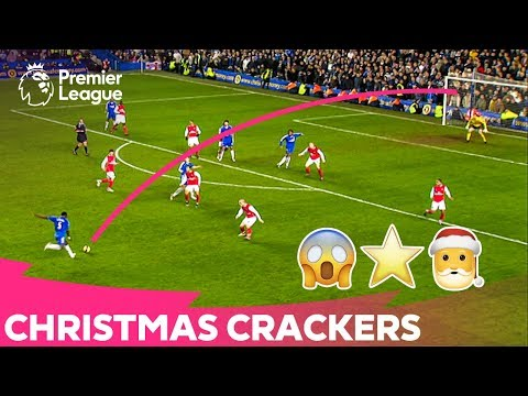 CHRISTMAS CRACKERS | Amazing Long Shot Premier League Goals
