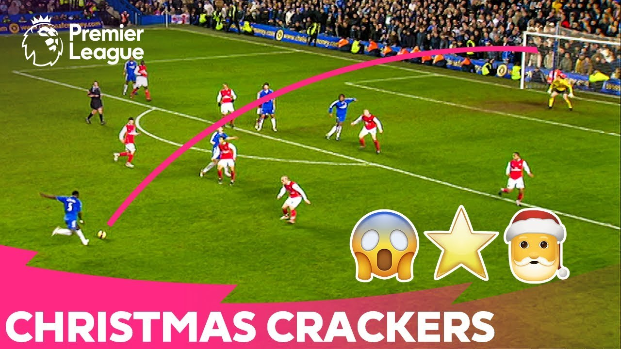 CHRISTMAS CRACKERS | Amazing Long Shot Premier League Goals