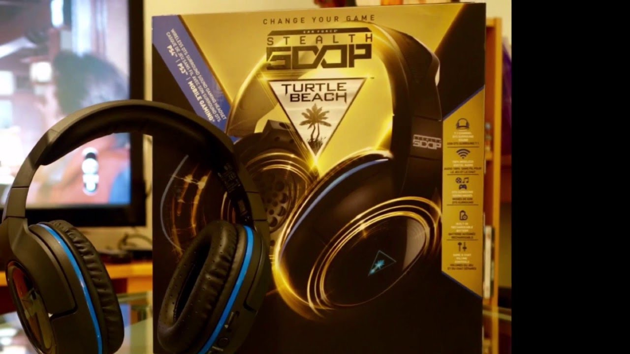 ea709aeb783 Turtle Beach Ear Force Stealth 500P PS4 gaming Wireless Headphones Review