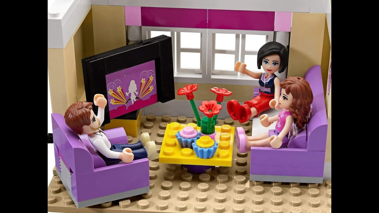 Lego ЛЕГО Френдс 3315 «Домик Оливии» - YouTube