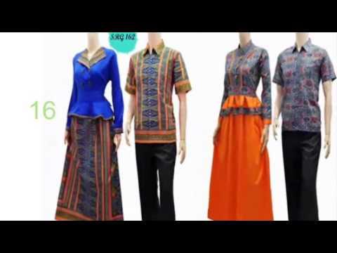 Blus Batik Tulis Baju Batik Lampung Murah Youtube