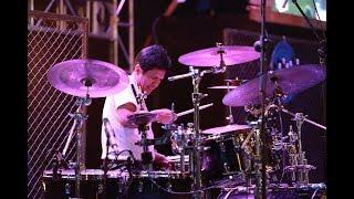 GILANG RAMADHAN SOLO DRUM Live at Malang Jazz Festival 2017