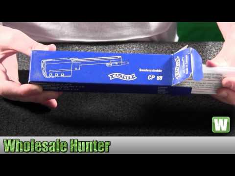 Umarex Walther CP88 CO2 2252508 Airgun Accessories Mags Holsters Unboxing