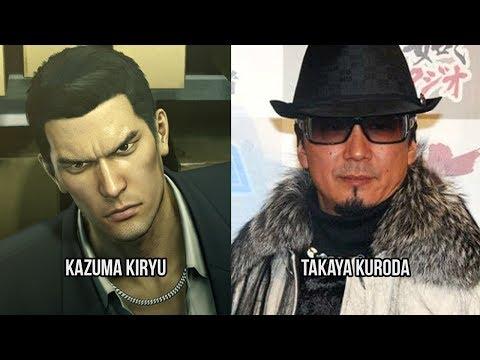 Characters and Voice Actors - Yakuza 0