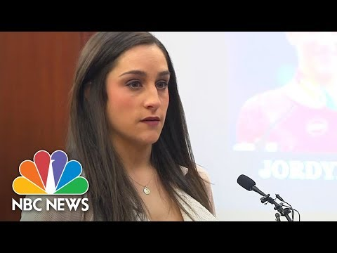 USA Olympic Gold Medalist Jordyn Wieber Reveals She Was Abused By Larry Nassar | NBC News