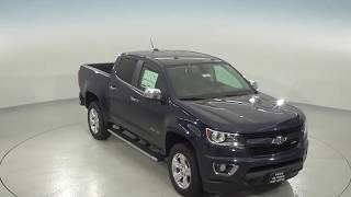 182064 - New, 2018, Chevrolet Colorado, Z71, 4WD, Blue, Crew, Test Drive, Review, For Sale -