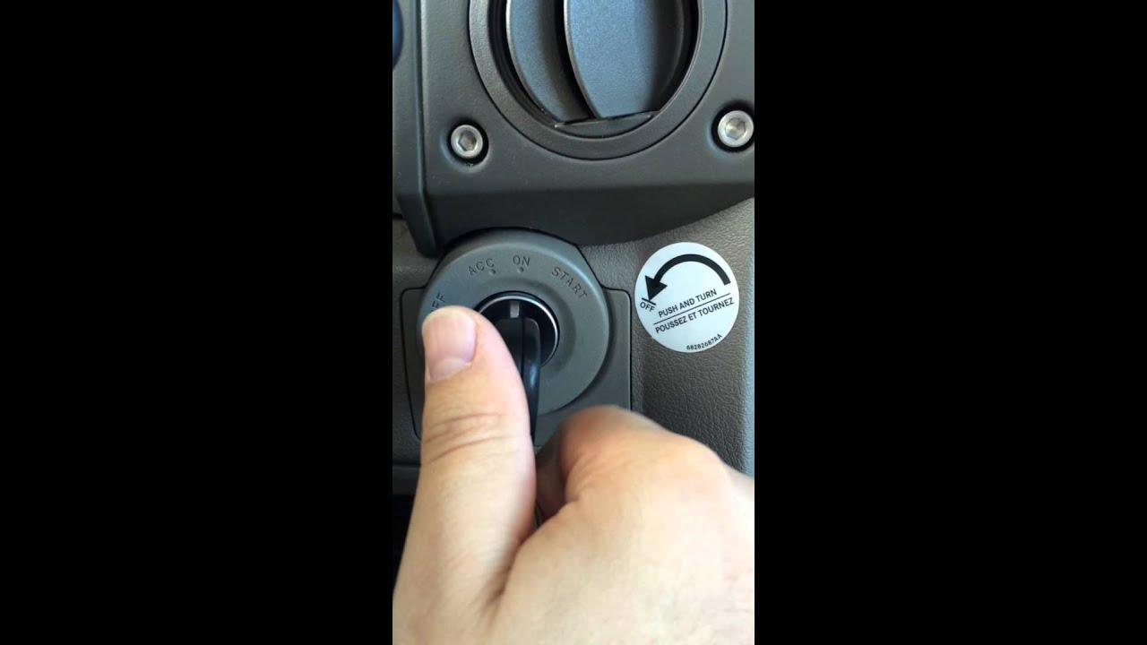 Jeep Commander Ignition Switch Recall Installed