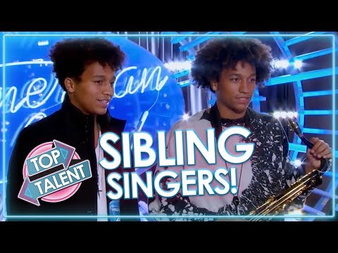 SENSATIONAL SIBLING SINGERS! Got Talent, X Factor and Idols | Top Talent from YouTube · Duration:  30 minutes 58 seconds