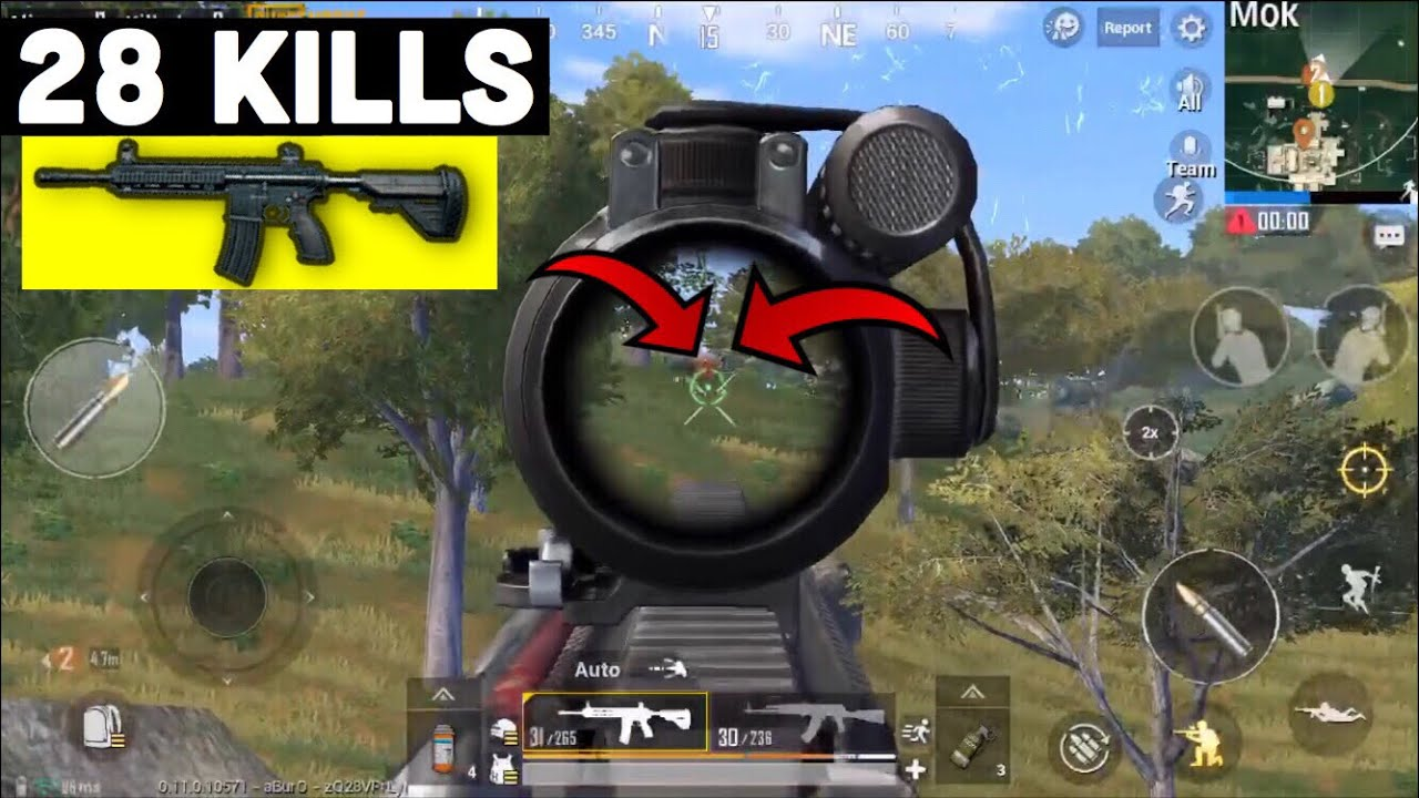 Why M Is The Best Weapon  Kills Duo Vs Squad Ft Kevin Pubg Mobile