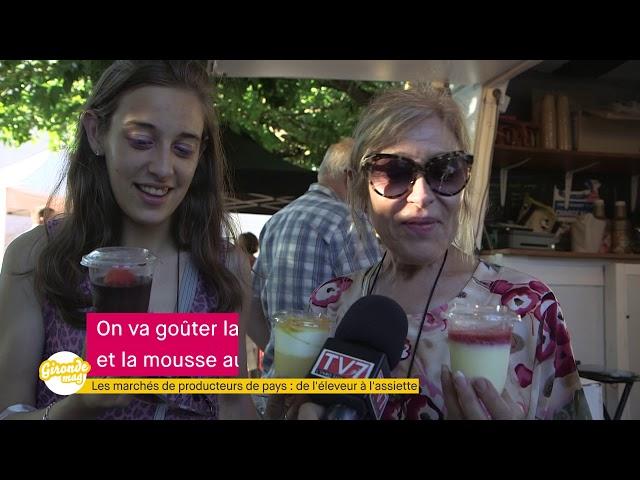 Gironde Mag' - Marché des producteurs