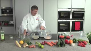 Italian Seafood Salad - Cooking With The Zip Hydrotap And Giancarlo Caldesi
