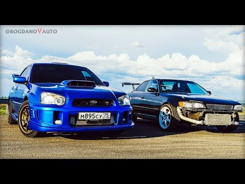 VшкаПротивВсех TourerV Vs Subaru WRX STI SPEC C