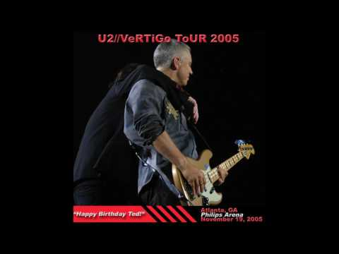U2 - Vertigo Tour - Happy Birthday Ted! (2005/11/19)