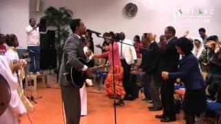 Mezmur Pastor John Girma and Zaseat in The Bride Of Christ Eindhoven part 1