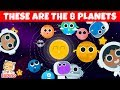 The Planet Song   Learn The Planets   Space Song - HiDino Kids Songs