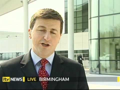 Douglas Alexander on the Labour manifesto, ITV