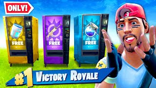 Using *ONLY* VENDING MACHINES to WIN! (NEW)