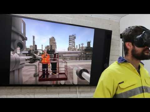 Virtual Reality Demo for Safety Training