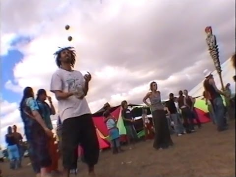 Alien Safari psytrance party, Cape Town 2002 - full uncut video