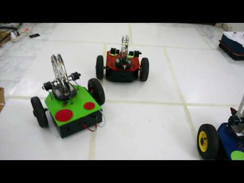 Multi-Agent Robots Graduation Project