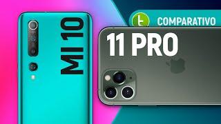 MI 10 vs IPHONE 11 PRO: qual o MELHOR para COMPRAR, Xiaomi ou Apple? | Comparativo