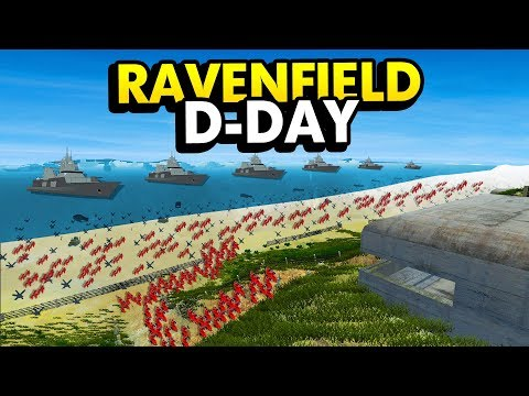 THE ULTIMATE D-DAY MISSION IN RAVENFIELD (Ravenfield Funny Gameplay)