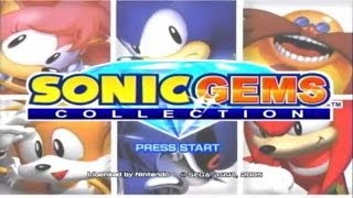 GameCube Classics 12 - Sonic Gems Collection