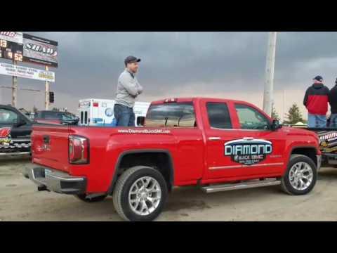 Diamond Buick GMC Pace Truck at Viking Speedway.   5/28/17