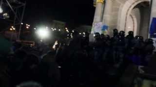 #Євромайдан Разгон мирного протеста 30 ноября 2013 года