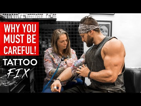 FIRST TATTOO: Mistakes & Fixes | DO'S & DON'TS BEFORE Getting Inked (LEX FITNESS)