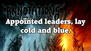 Annotations of an Autopsy - Impale the Sun (LYRICS)