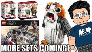 LEGO Star Wars OCTOBER 2018 Sets!   75230 Porg, 75222 Cloud City, & MORE!